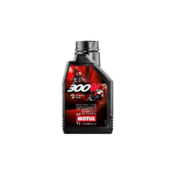 Oil Motul 300V2 Factory Line 10W50 1L Road and Off Road