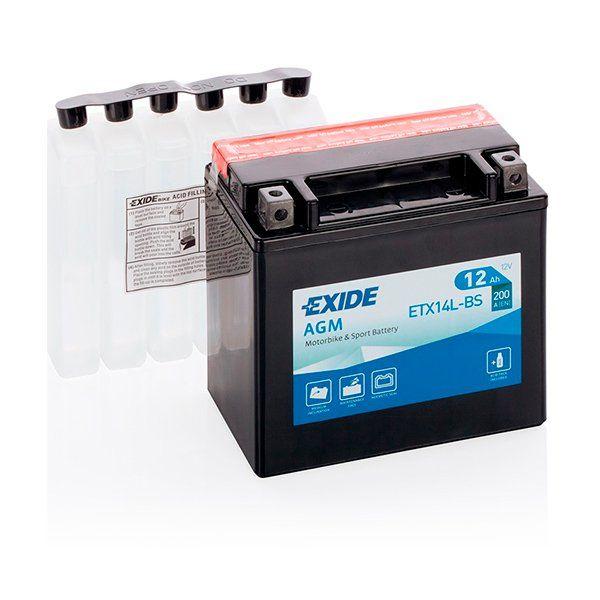Bateria Exide YTX16-BS