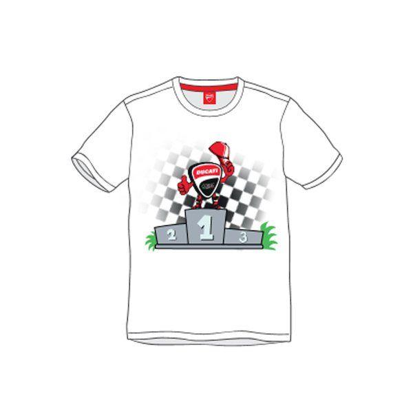 Camiseta Ducati Niño Mascot