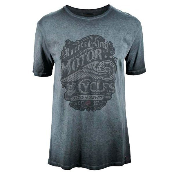 Camiseta Race-Red Moto Cycles Gris