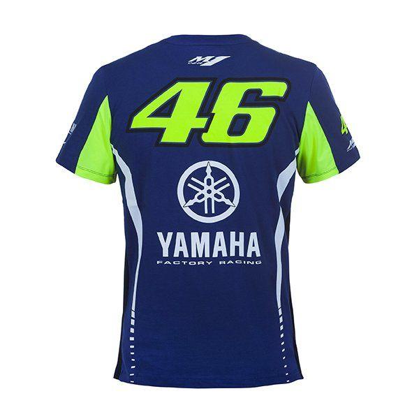 Camiseta Valentino Rossi Yamaha.