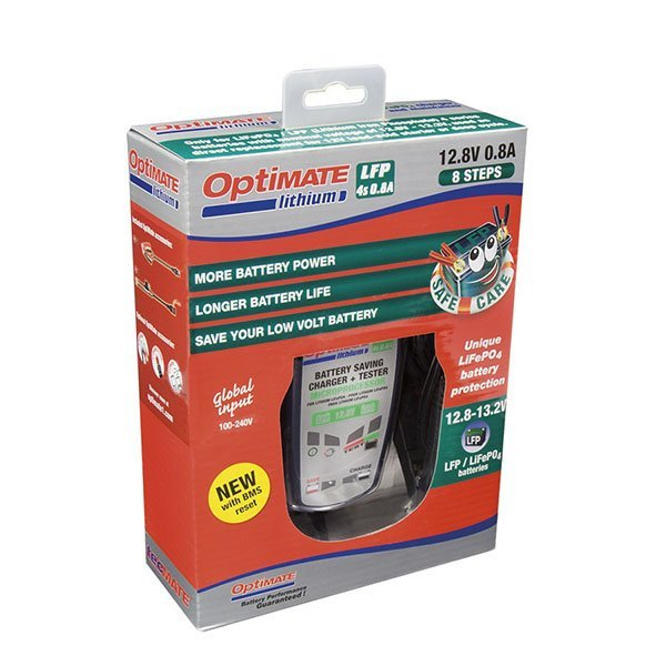 Cargador Optimate Lithium 0.8-1