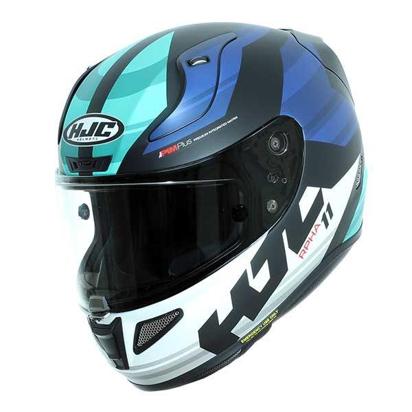 28180b807cd1b Helmet HJC Rpha 11 Naxos MC2SF Blue Turquoise Matte - 337.00 €