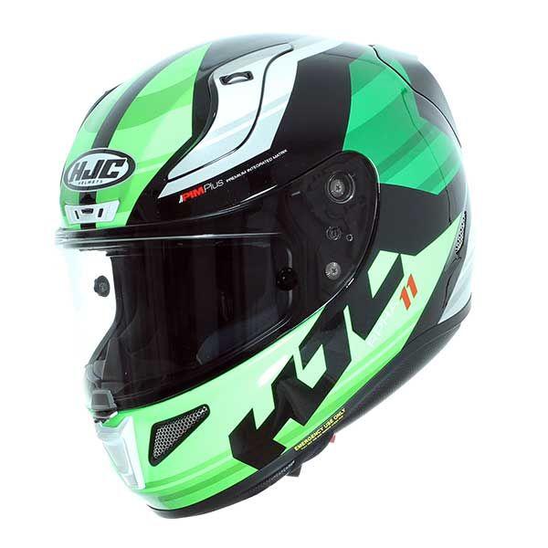0510ce5daa0a3 Helmet HJC Rpha 11 Naxos MC4 Green Black - 337.00 €