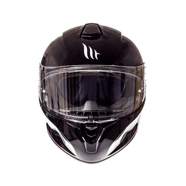 ahorros fantásticos grandes ofertas recoger Helmet MT Targo Solid A1 black gloss