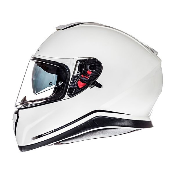 Casco MT Thunder 3 SV Solid blanco perla1