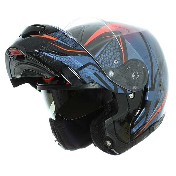 6b2124c3 Helmet Scorpion Exo-3000 Air Creed black blue - 311.00 €