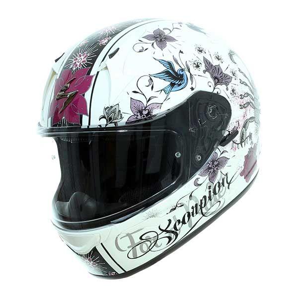 9a001c45 SCORPION Exo-390 Helmet Girl white black - 87.00 €