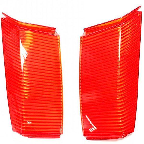 Catadioptricos Gvi V35 Z1424R Rojo