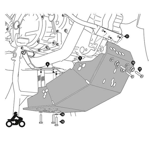 Cubrecarter SW Motech 1290 Super Adventure