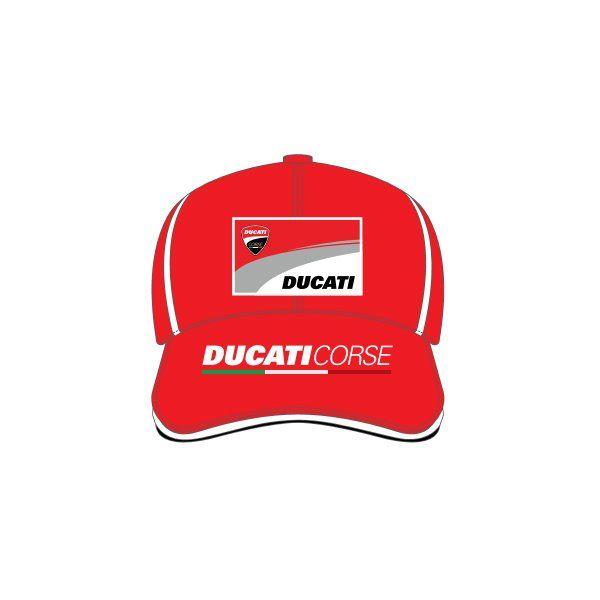 Gorra Ducati Malboro Rojo