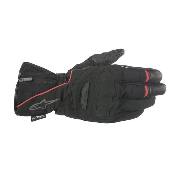 Guantes Alpinestars Primer Drystar Negro Rojo