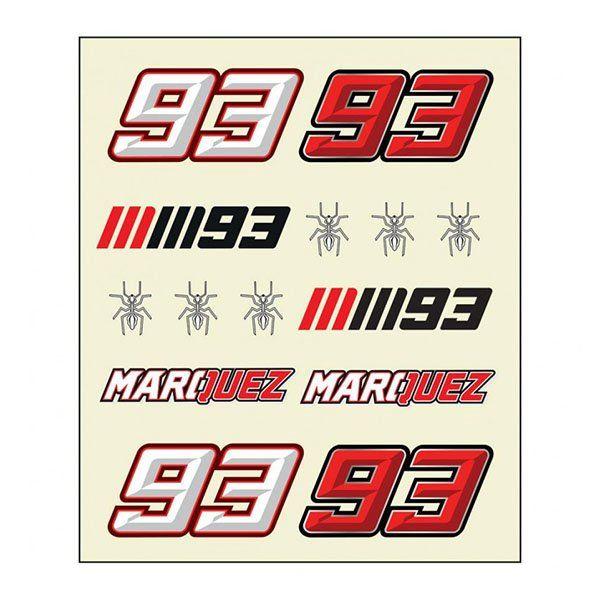 Pegatinas Marc Marquez Multicolor