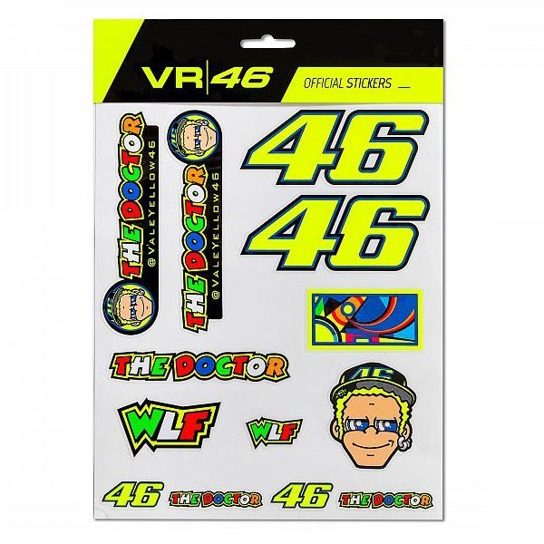 Pegatinas Valentino Rossi WLF