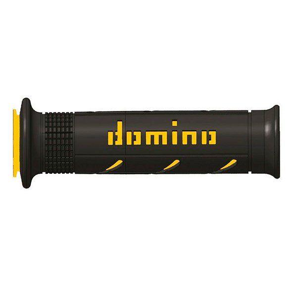 Puño Carretera Domino MX2 Negro Amarillo