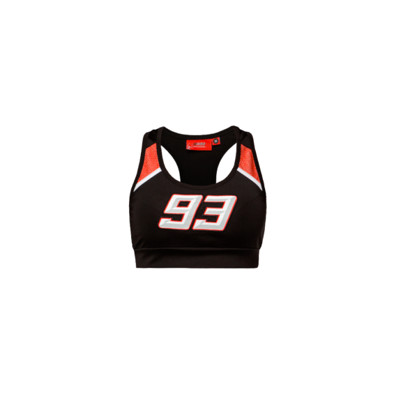 Top Marc Marquez Lady Negro